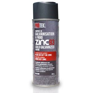 Pr distribution zinc93 cold galvanized coating protek - Galvanisation a froid ...