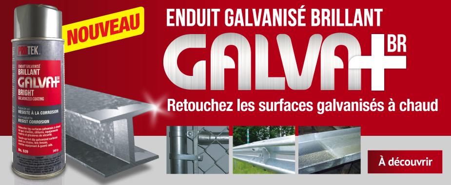 Enduit galvanisé brillant GALVA+BR #539