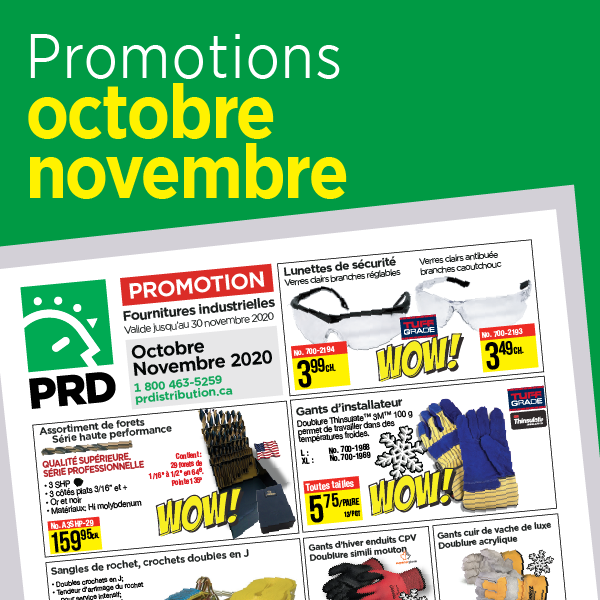Montly promotions from PR Distribution
