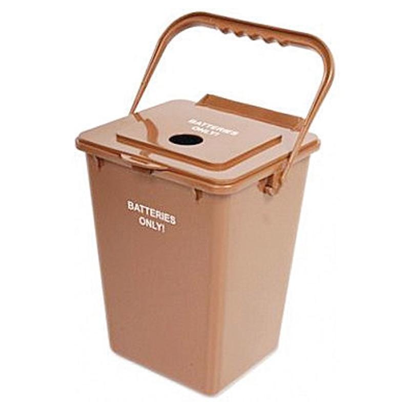 Batterie Boîte de recyclage Batterie Hunt Boîte en carton
